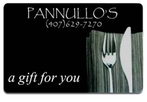 Image of Pannullos Italian Restaurant Gift Card